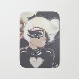 Key to your heart Bath Mat