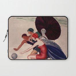 1926 - Leonetto Cappiello - La Baule-les-Pins Laptop Sleeve