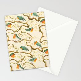 Robin in the Corkscrew Stationery Cards