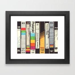 VHS Detail I Framed Art Print