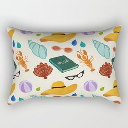 In love with summer! Rectangular Pillow