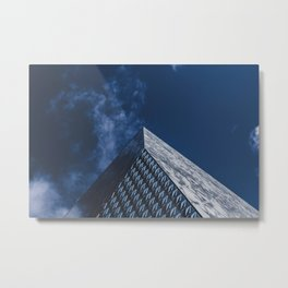 Space Architecture Metal Print