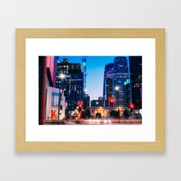 LA LIVE Framed Art Print