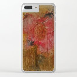 Withered rose Clear iPhone Case