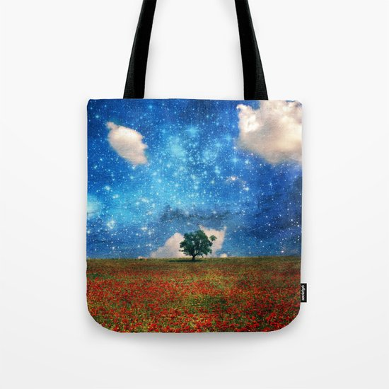 The Magical Night-Day Realm Tote Bag