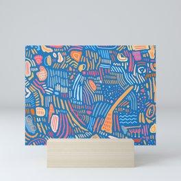 Coral in Paradise Mini Art Print