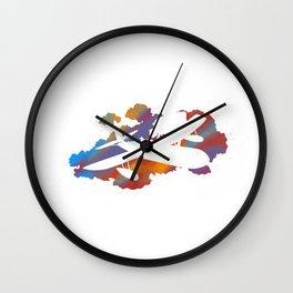 Joel Freeman's Miyazaki Art M1 Series: Porco Rosso Wall Clock