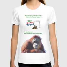 WONKY TRIPOD LOGO T-shirt