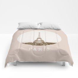 PARIS / eiffel tower / france Comforters