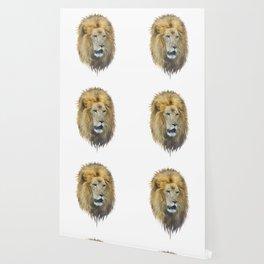 lion head watercolor Wallpaper