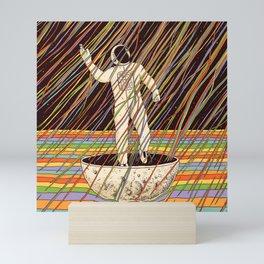 Pouring Dream Mini Art Print