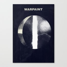 Warpaint Canvas Print