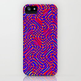 Spring Abstract iPhone Case