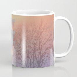 Techno Skyline Coffee Mug
