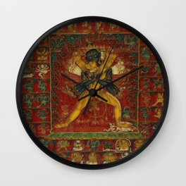 Buddhist Deity Kalachakra Wall Clock