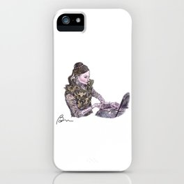 Lauren Cuthbertson as Juliet iPhone Case