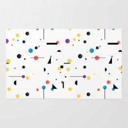 Abstract seamless pattern like Kandinsky Rug