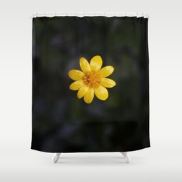 Tiny flower Shower Curtain