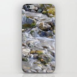 Mountains creek iPhone Skin