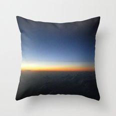 Always Blue Sky Throw Pillow