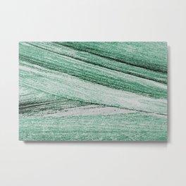 Abstract wood bark watercolor painting #8 Metal Print