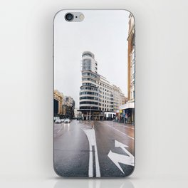 Madrid - Gran Via iPhone Skin
