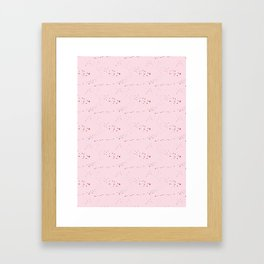Bloody cute Framed Art Print