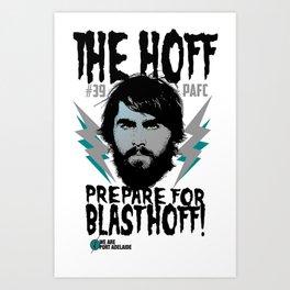 The Hoff (Justin Westhoff) Art Print
