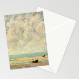Gustave Courbet - The Calm Sea Stationery Cards