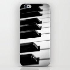 Black & White Piano Keys iPhone & iPod Skin