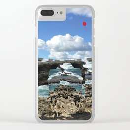 Island Escape Clear iPhone Case