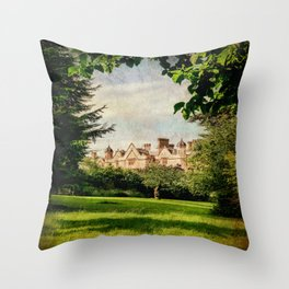 Dumbleton Manor (2) Throw Pillow
