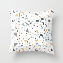 Terrazzo (Light) Throw Pillow