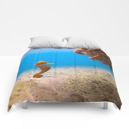 Tropical Seahorse Comforters