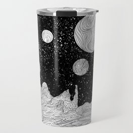 Somewhere in Space Travel Mug