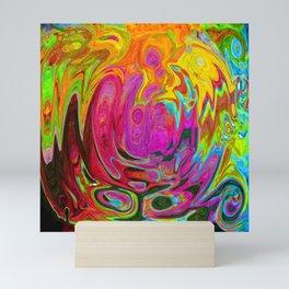 Liquid Rainbow Mini Art Print