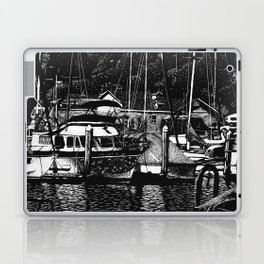 Oceanside CA - Reflecting on the past Laptop & iPad Skin