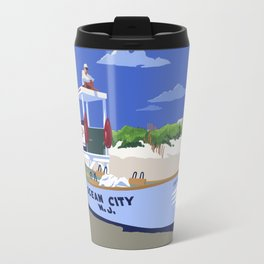 Ocean City Beach Patrol Travel Mug