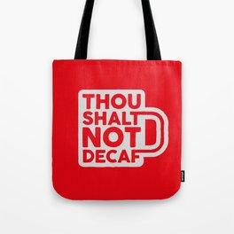 Sinful Coffee Tote Bag