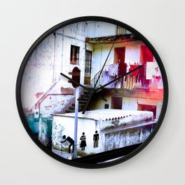 Those we Love Never Go Away Wall Clock