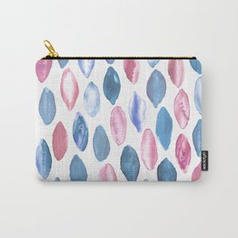 Watercolor Pastel Ovals Carry-All Pouch
