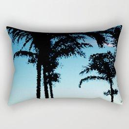 Tropical Summer Palms Rectangular Pillow