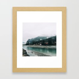 Tucked Away  Framed Art Print