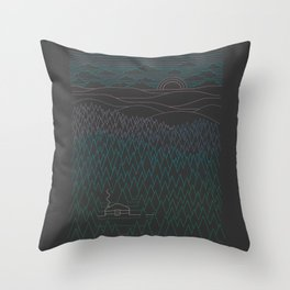 The Little Clearing Throw Pillow