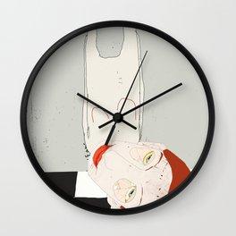 « tomber » Wall Clock