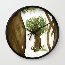 The Fortune Tree #3 Wall Clock