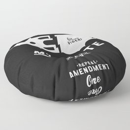 My State. Floor Pillow