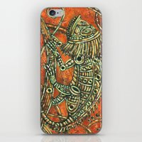 chameleon iPhone & iPod Skins featuring Chameleon by Sherdeb Akadan