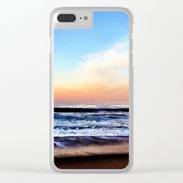 Zuma Beach Sunrise Clear iPhone Case