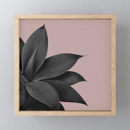Agave Finesse #14 #tropical #decor #art #society6 Framed Mini Art Print